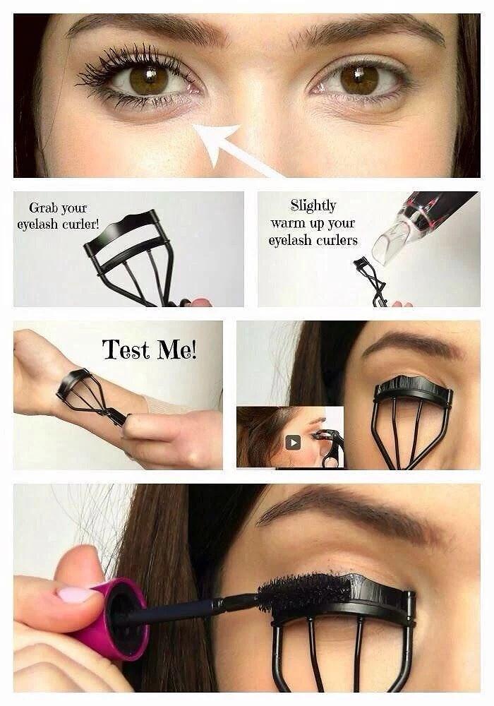 längre ögonfransar tips