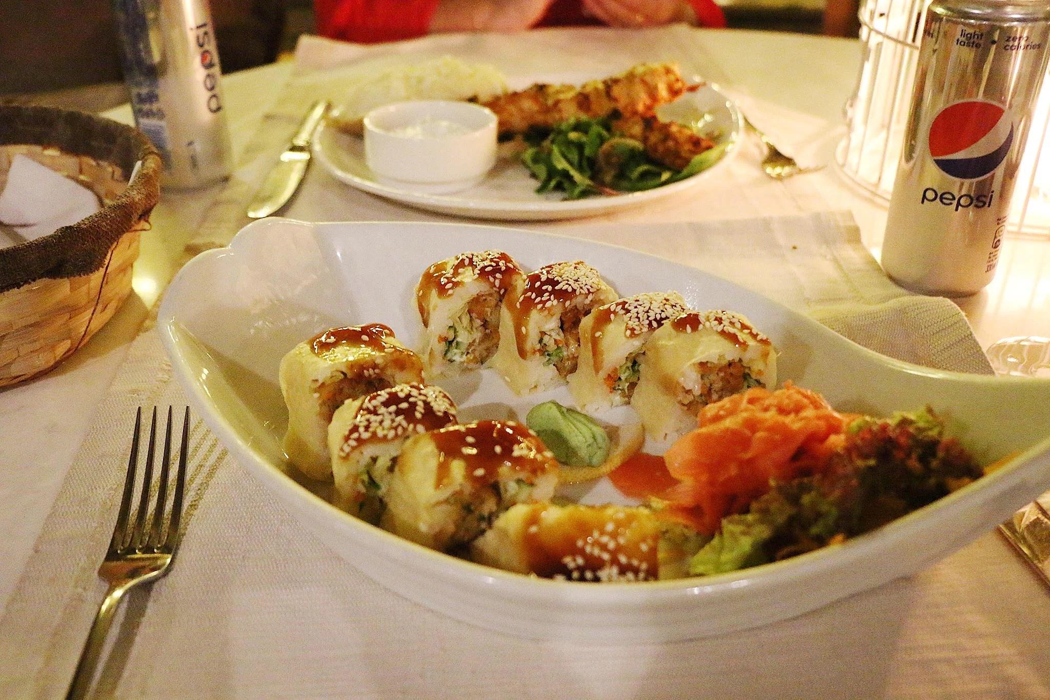 godaste sushin jag har ätit