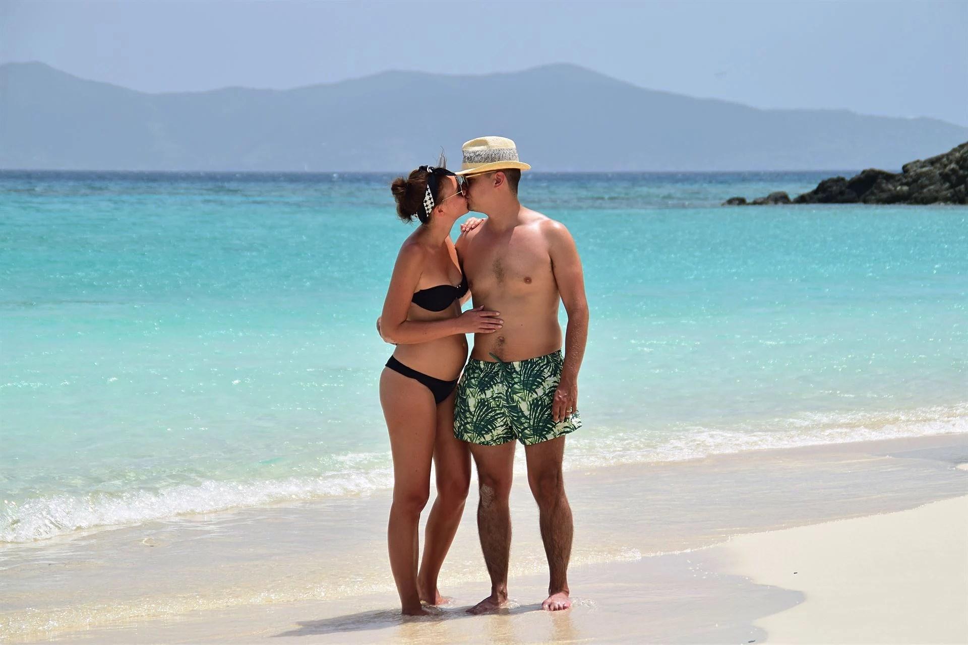 Löjligt vacker strand