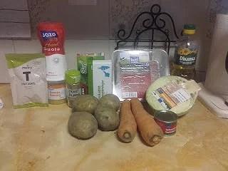 Kålsoppa med malet kött