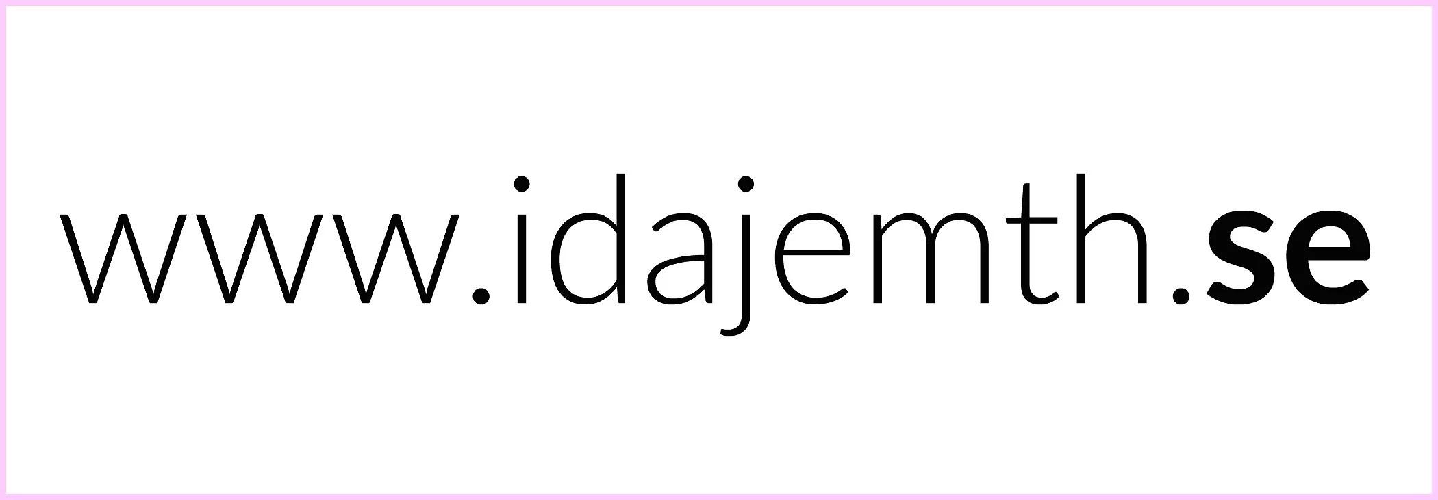 WWW.IDAJEMTH.SE