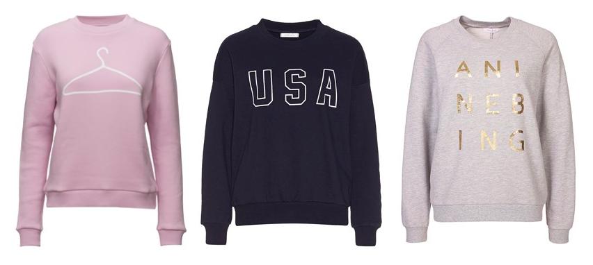Trends I love: Sweatshirts