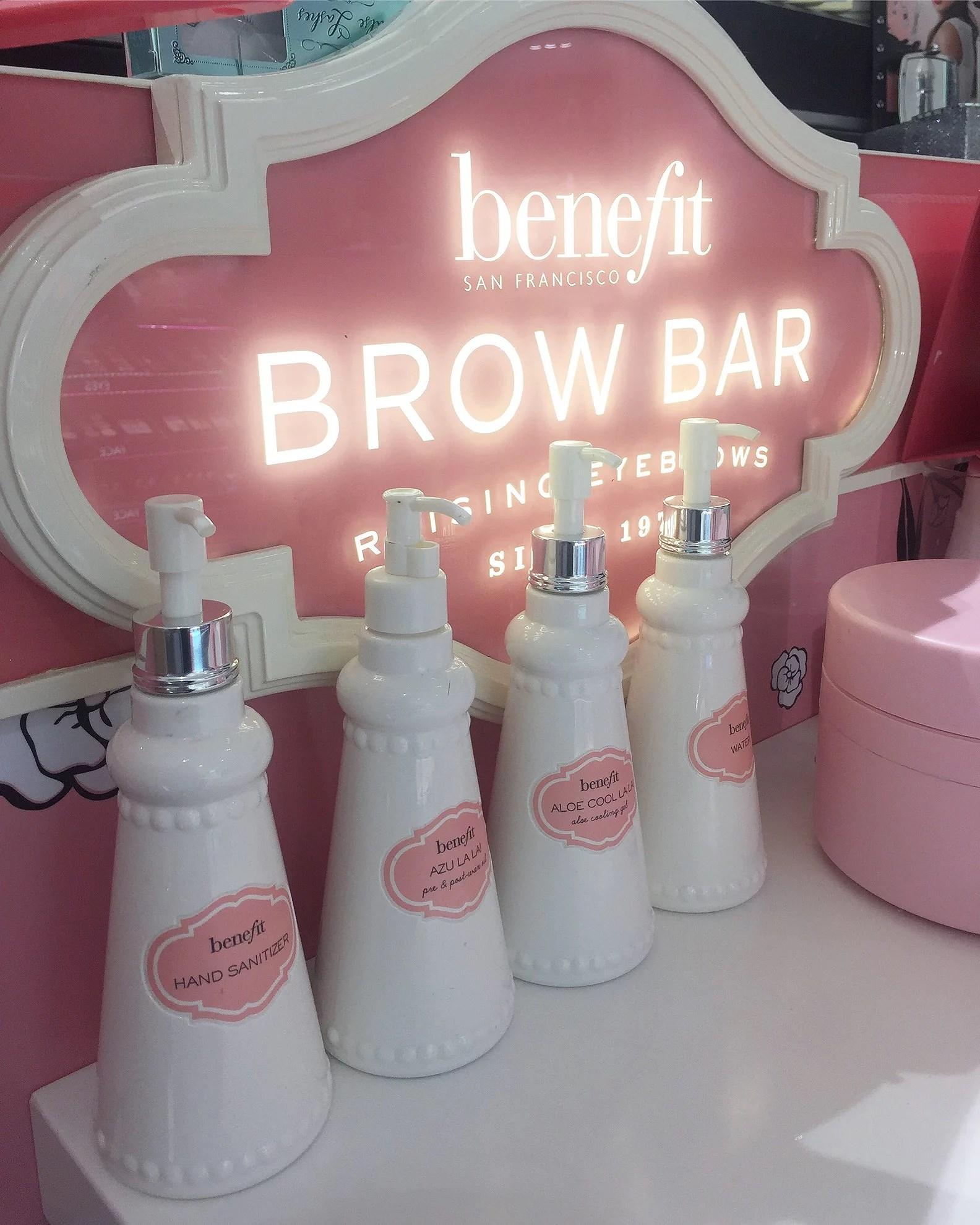 Benefit Brow Bar Före och Efter