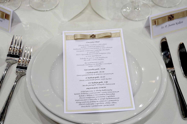 wedding decorations, wedding menu