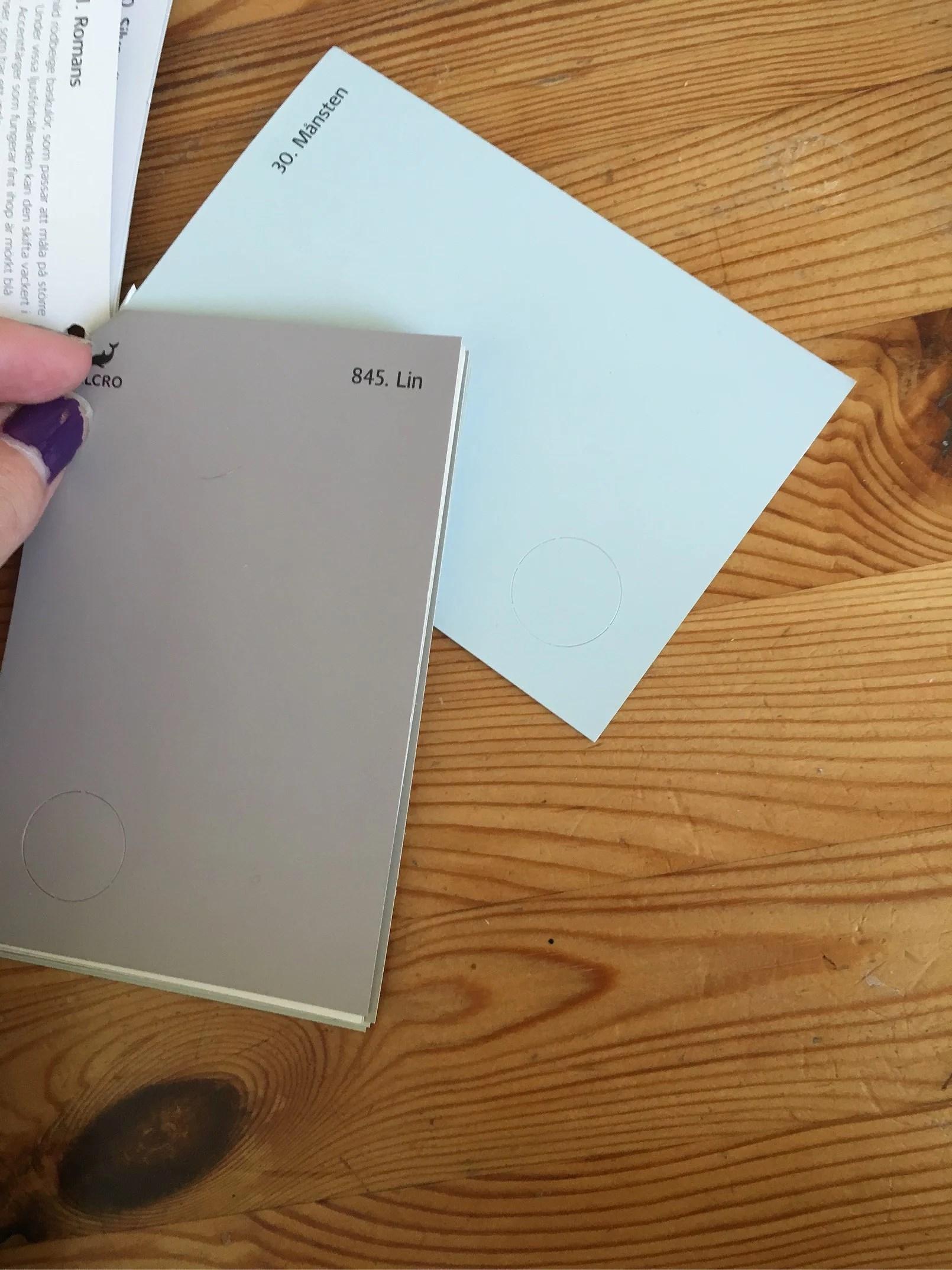 Bestämt färg