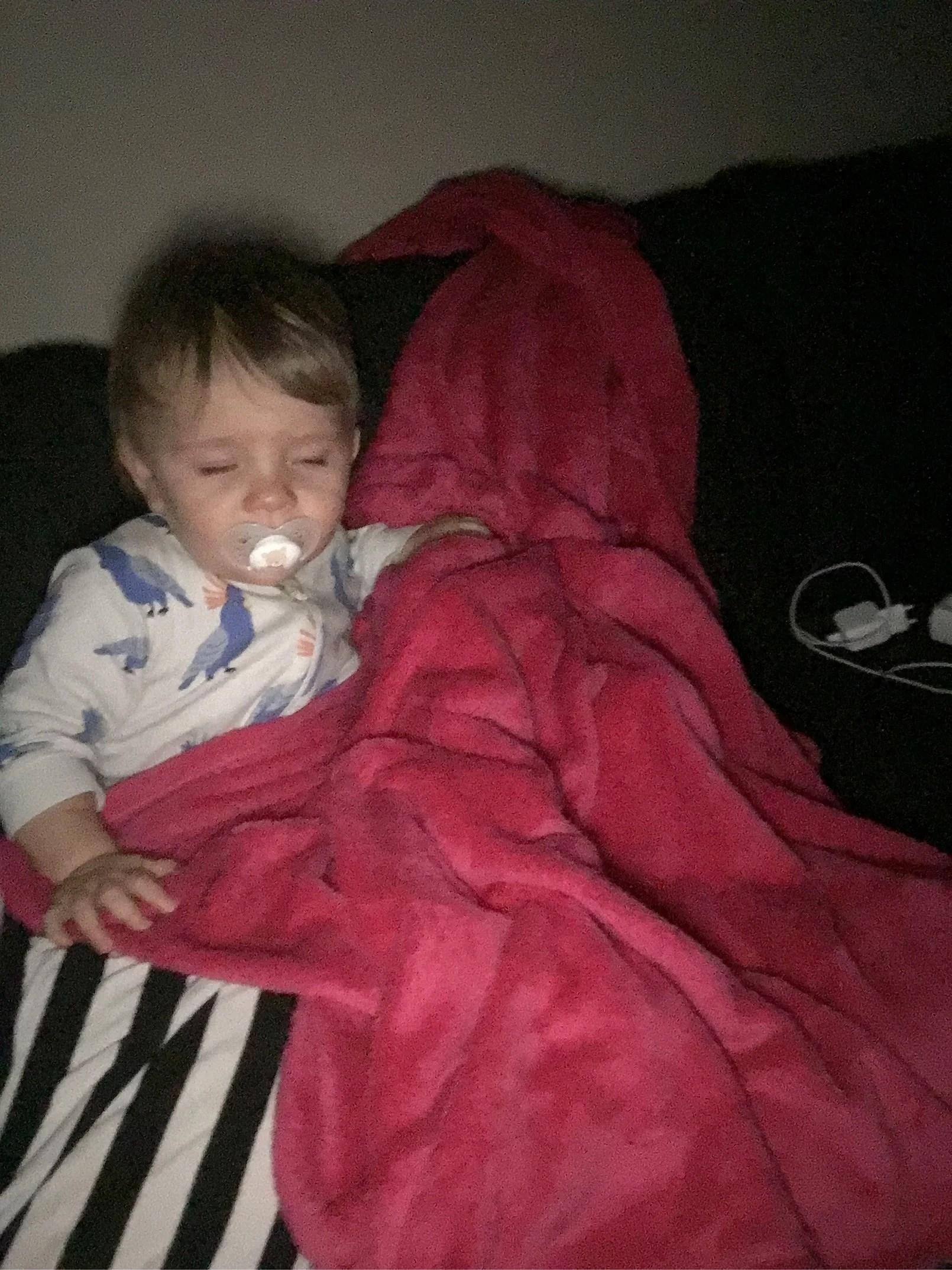 Vi tog sovmorgon