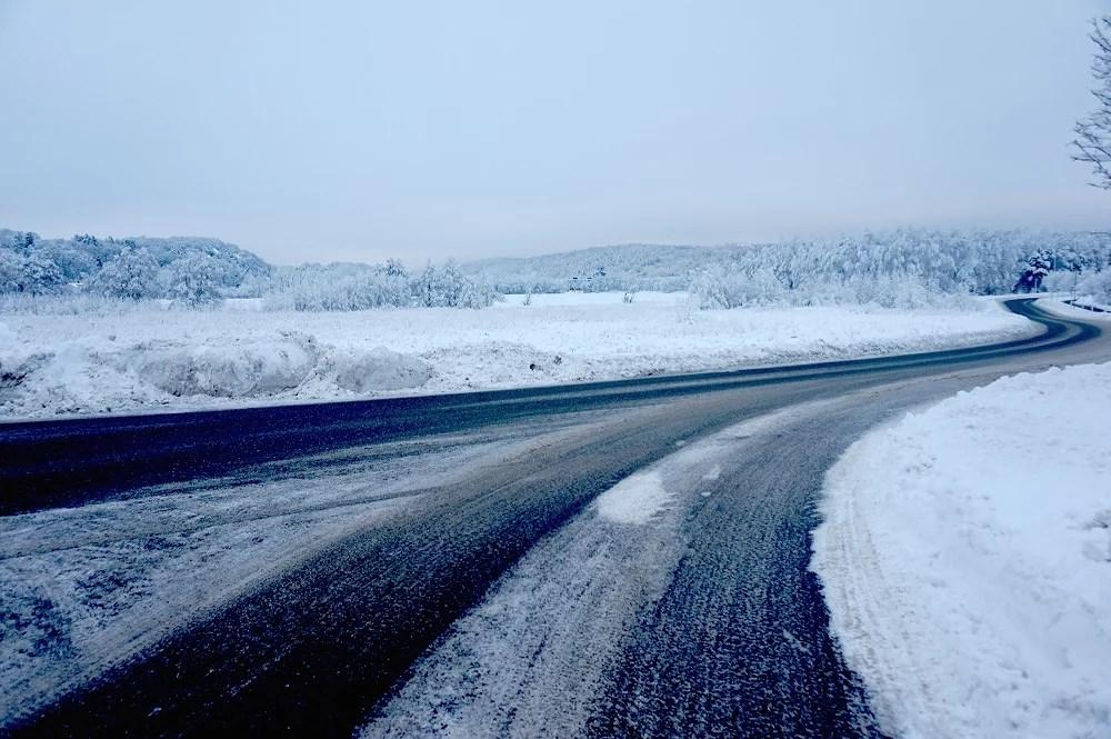 All denna snön