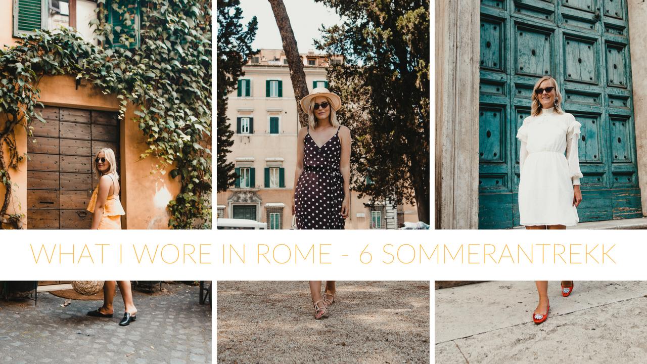 Video: hva jeg hadde på meg i Roma