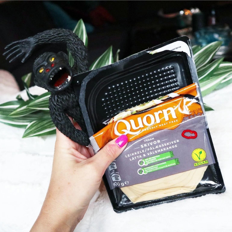 Qourn Vegans Skivor Lätta recension