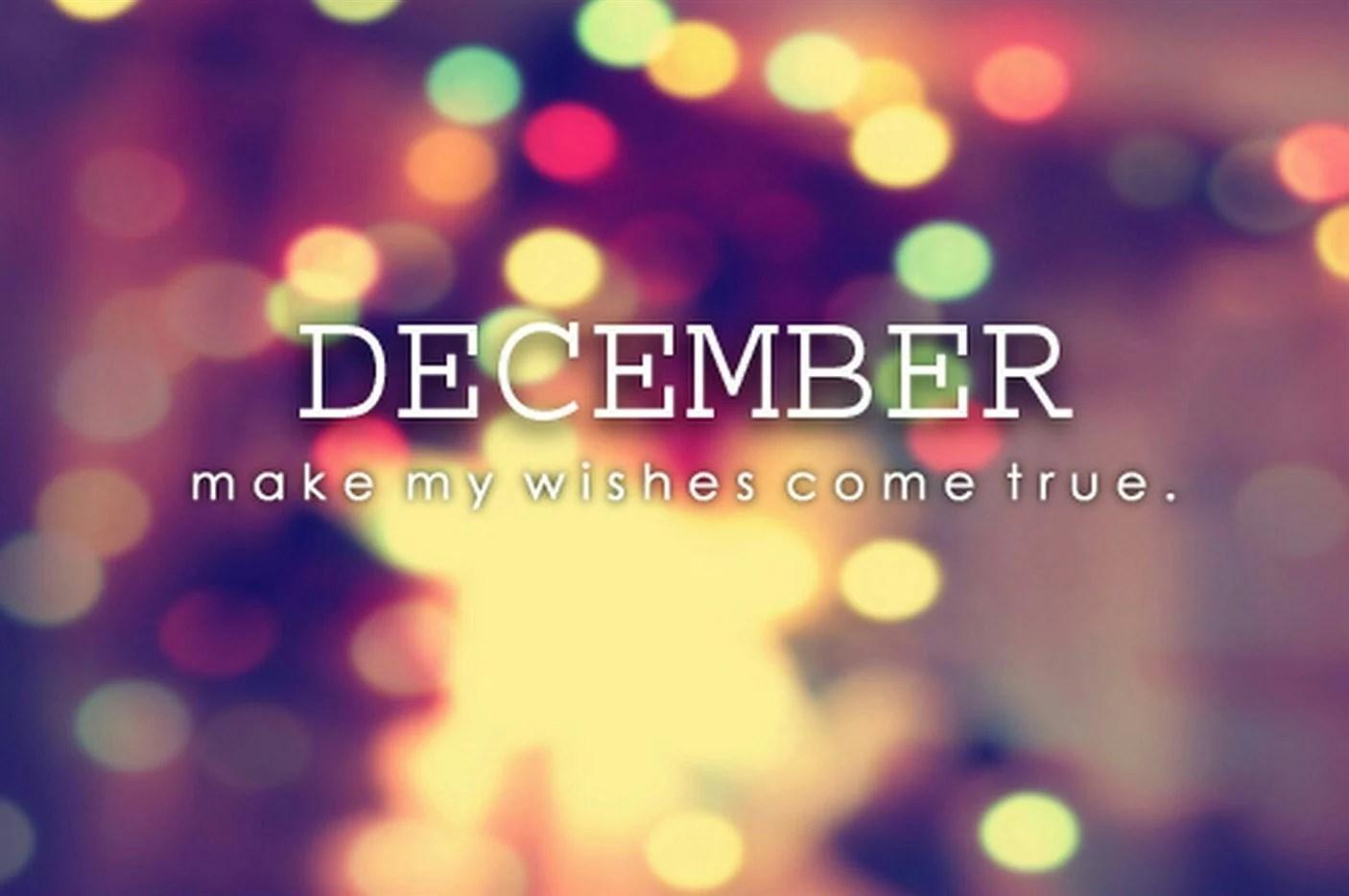 December, var tar tiden vägen?