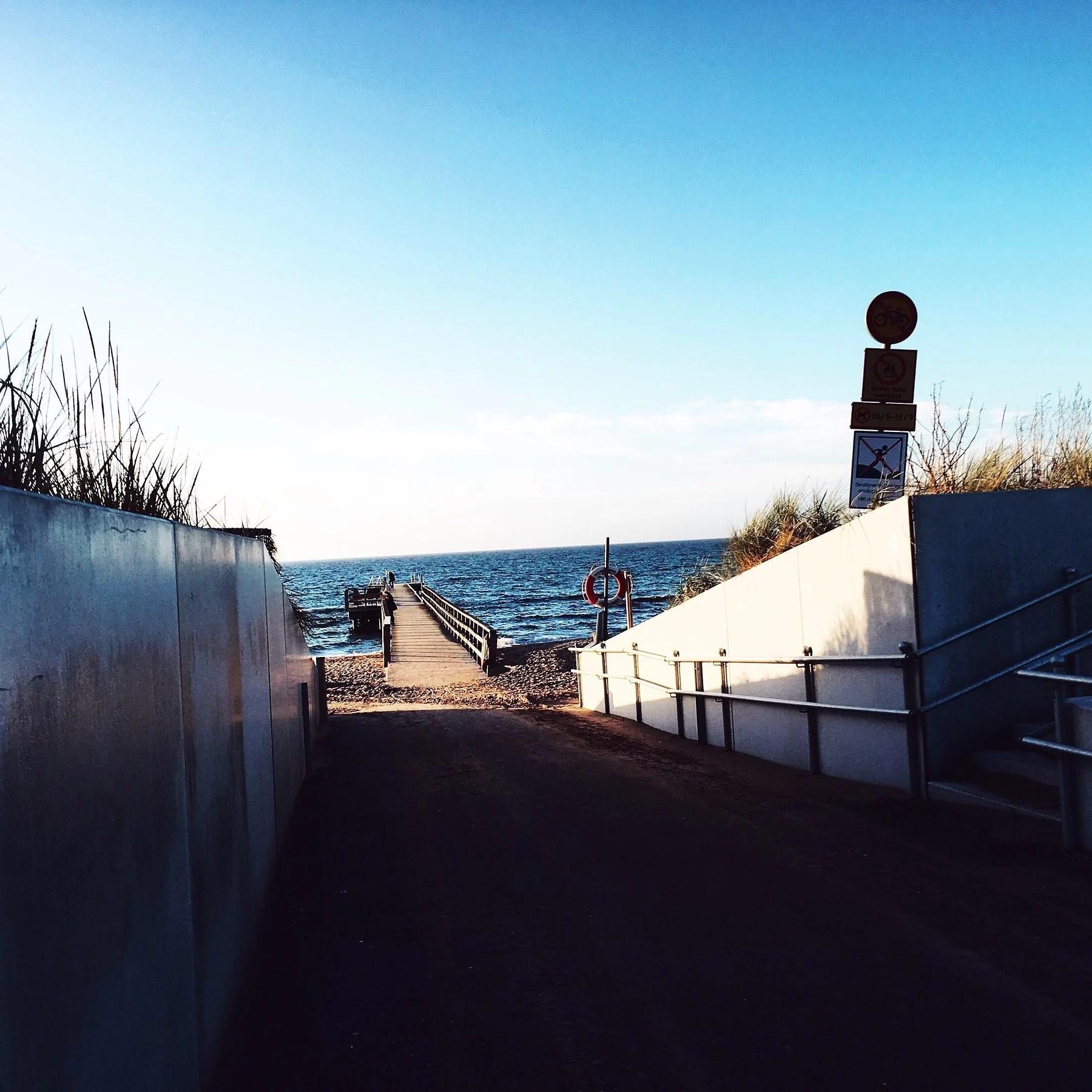 STUDY BREAK AT THE BEACH