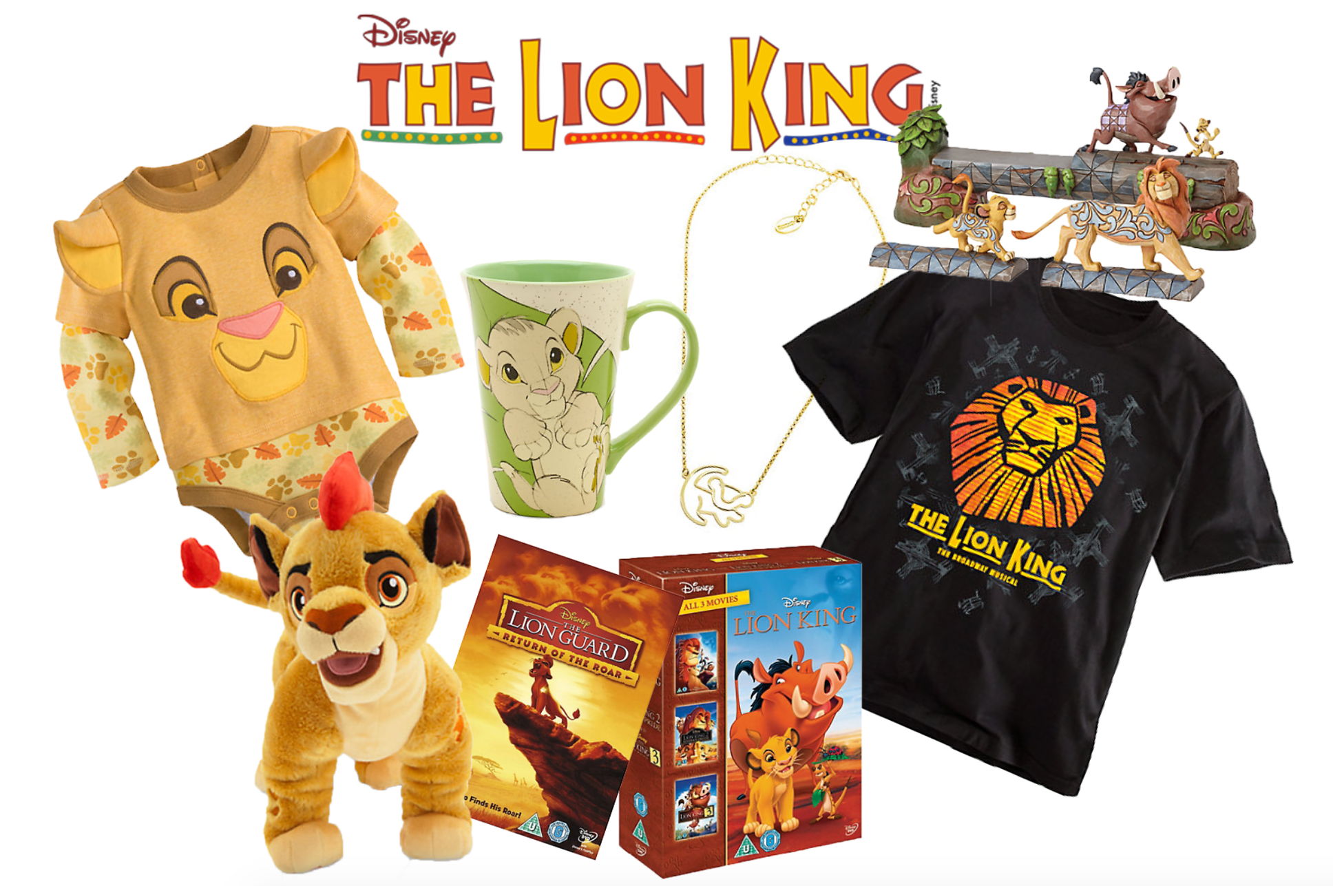 Disney Friday: My The Lion King/Guard Favorites from Disney Store UK