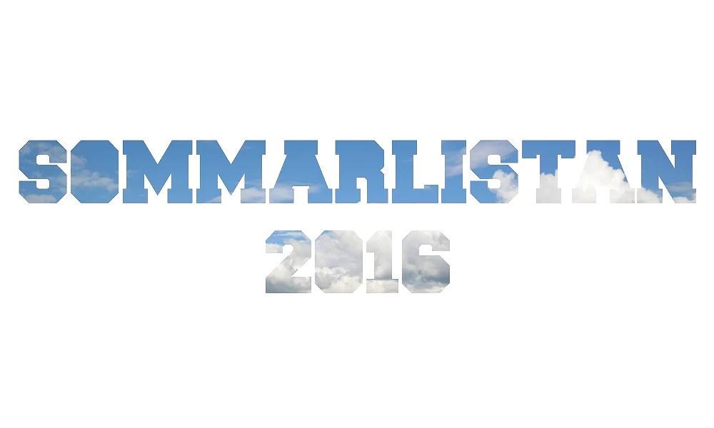 SOMMARLISTAN 2016