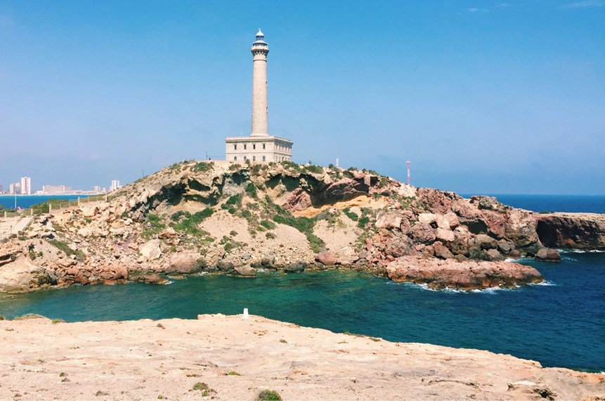 Faro de Cabo de Palos, Spain's biggest lighthouse