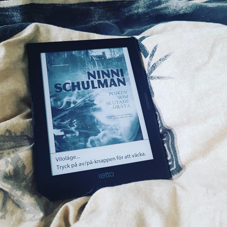 Pojken som slutade gråta av Ninni Schulman
