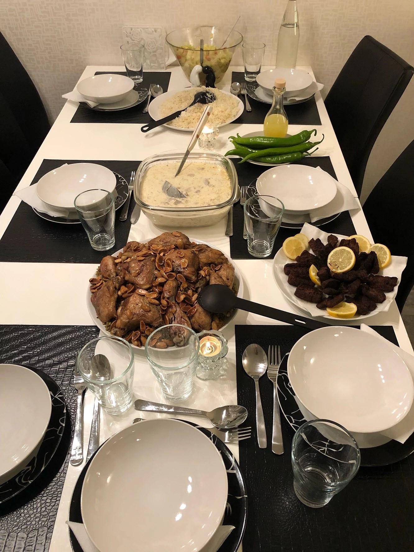 Trevlig middag i kväll 😊