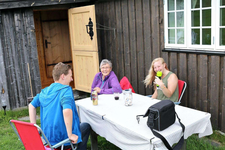 Grillfest på Sätern