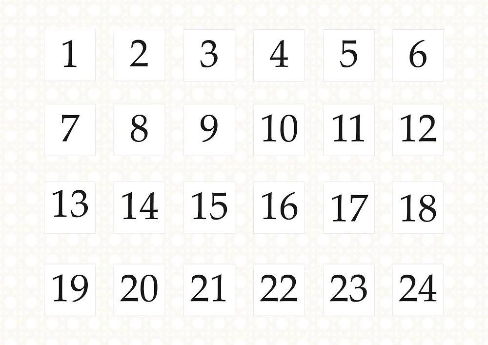Amélies Julkalender 2017