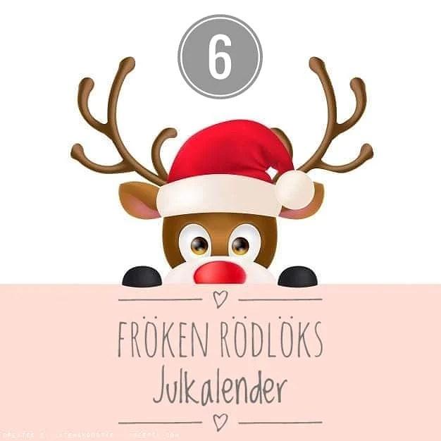 Fröken Rödlöks Julkalender - Lucka 6