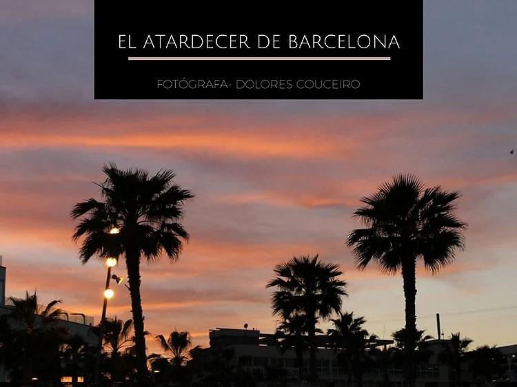 Atardecer de Barcelona