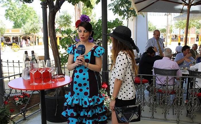 En directo con Onda Jerez en su reportaje sobre la Feria de Jerez