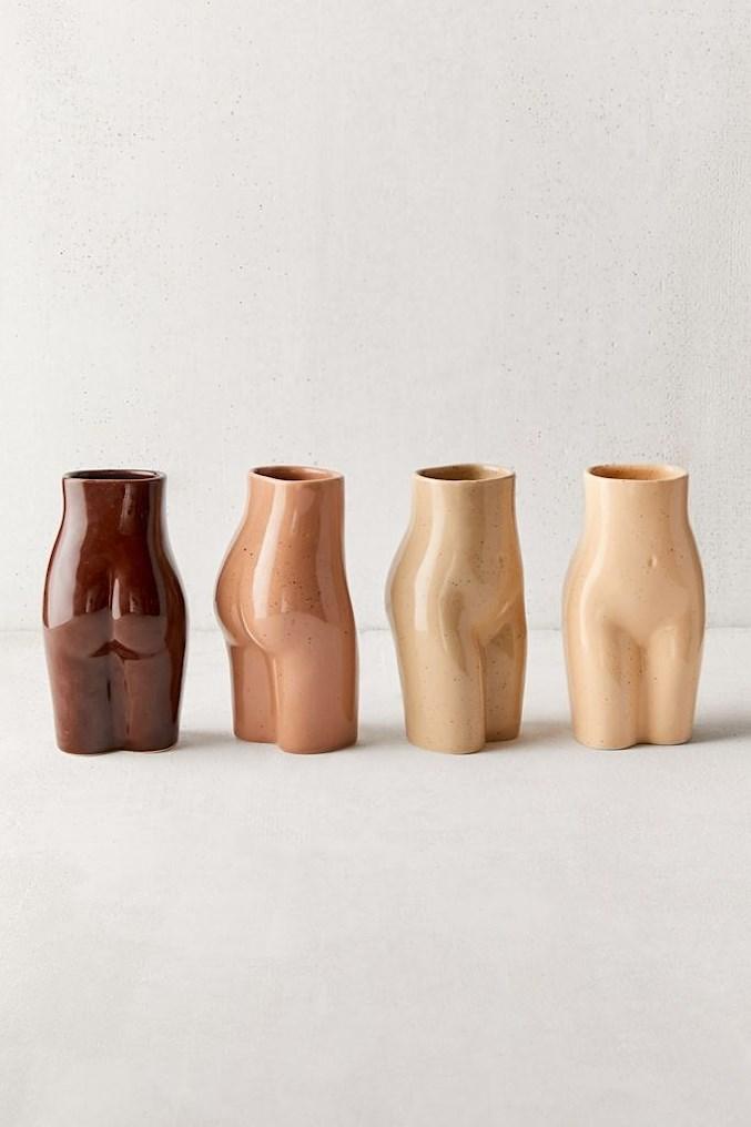 female form vase skin tone