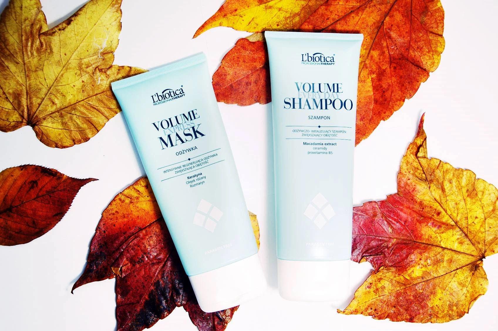 Piękne i zdrowe włosy - L'Biotica odżywka i szampon intensywnie regenerujący.