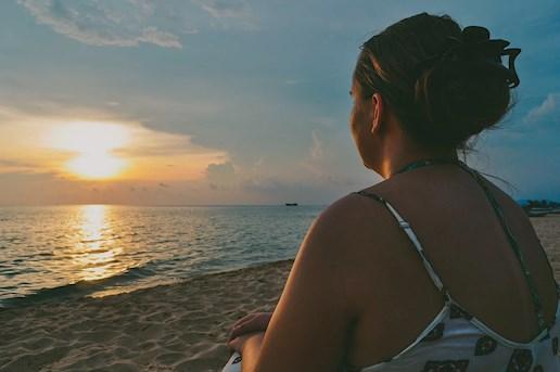 Vietnam Phu Quoc Beach Sunset South East Asia