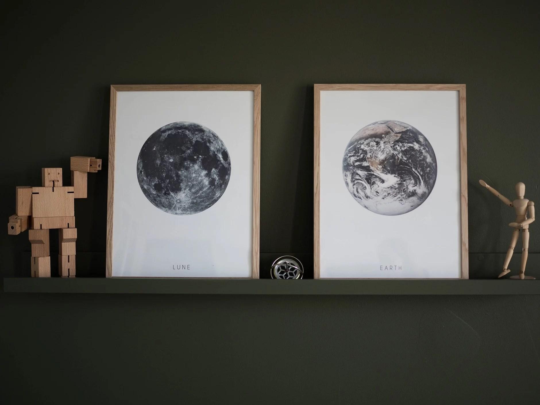 Detaljer i stuen og på soverommet