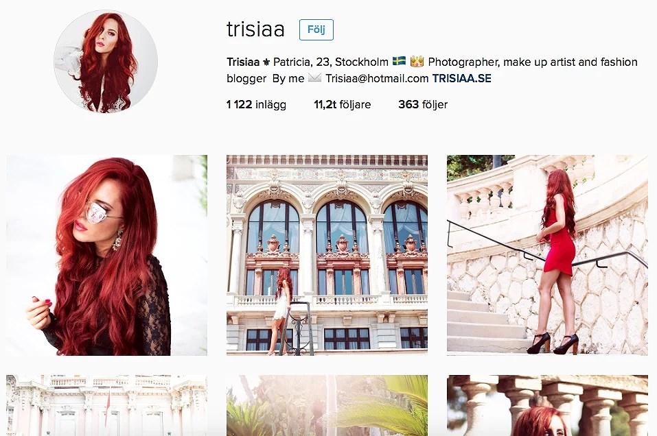 Trisiaa @ instagram