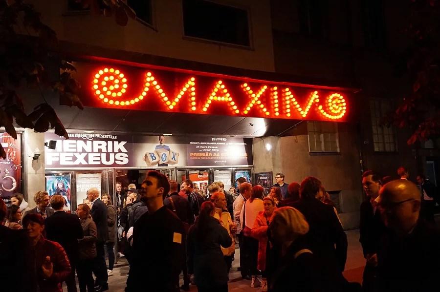 Maximteatern - Box med Henrik Fexeus