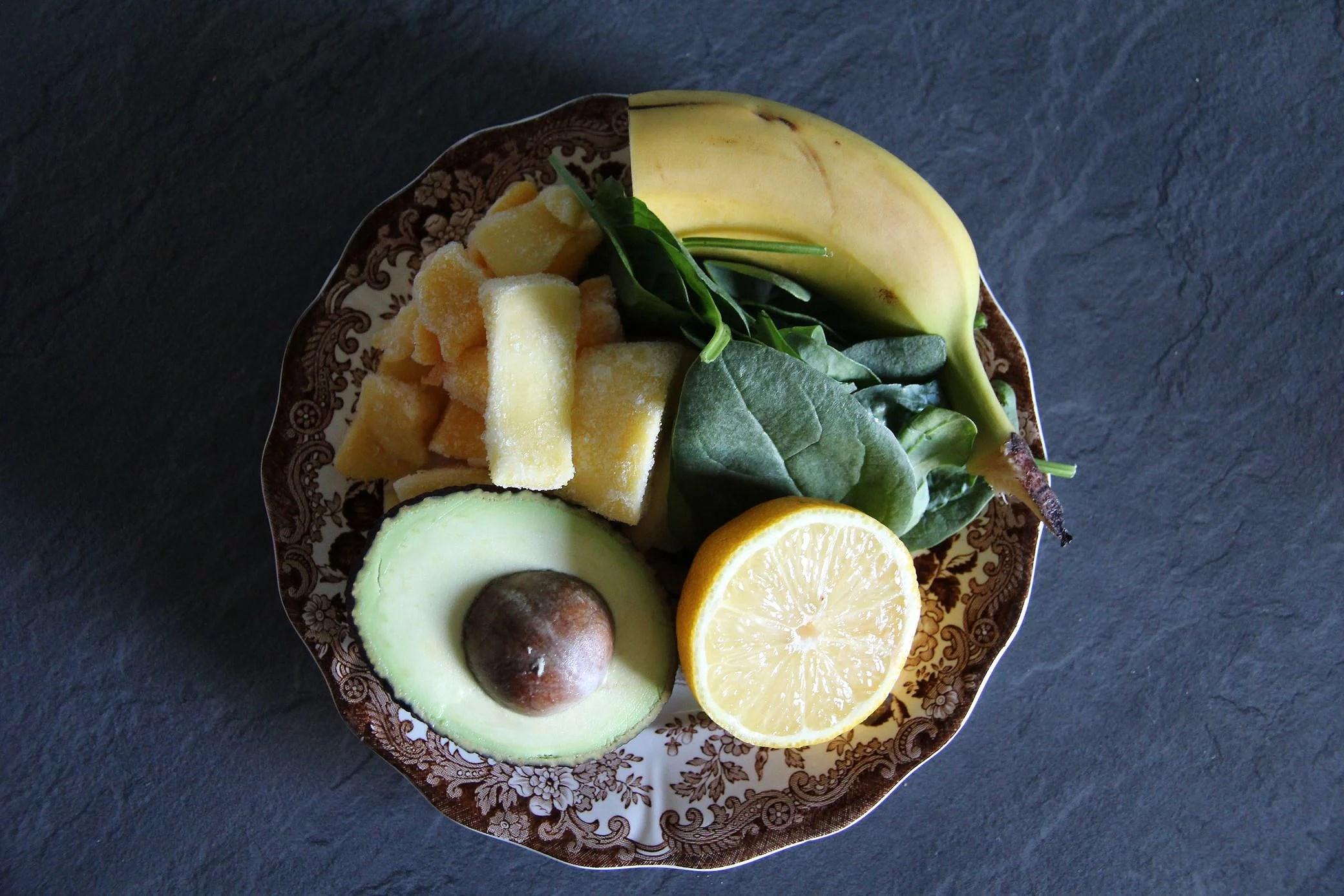 Grön smoothie & träning