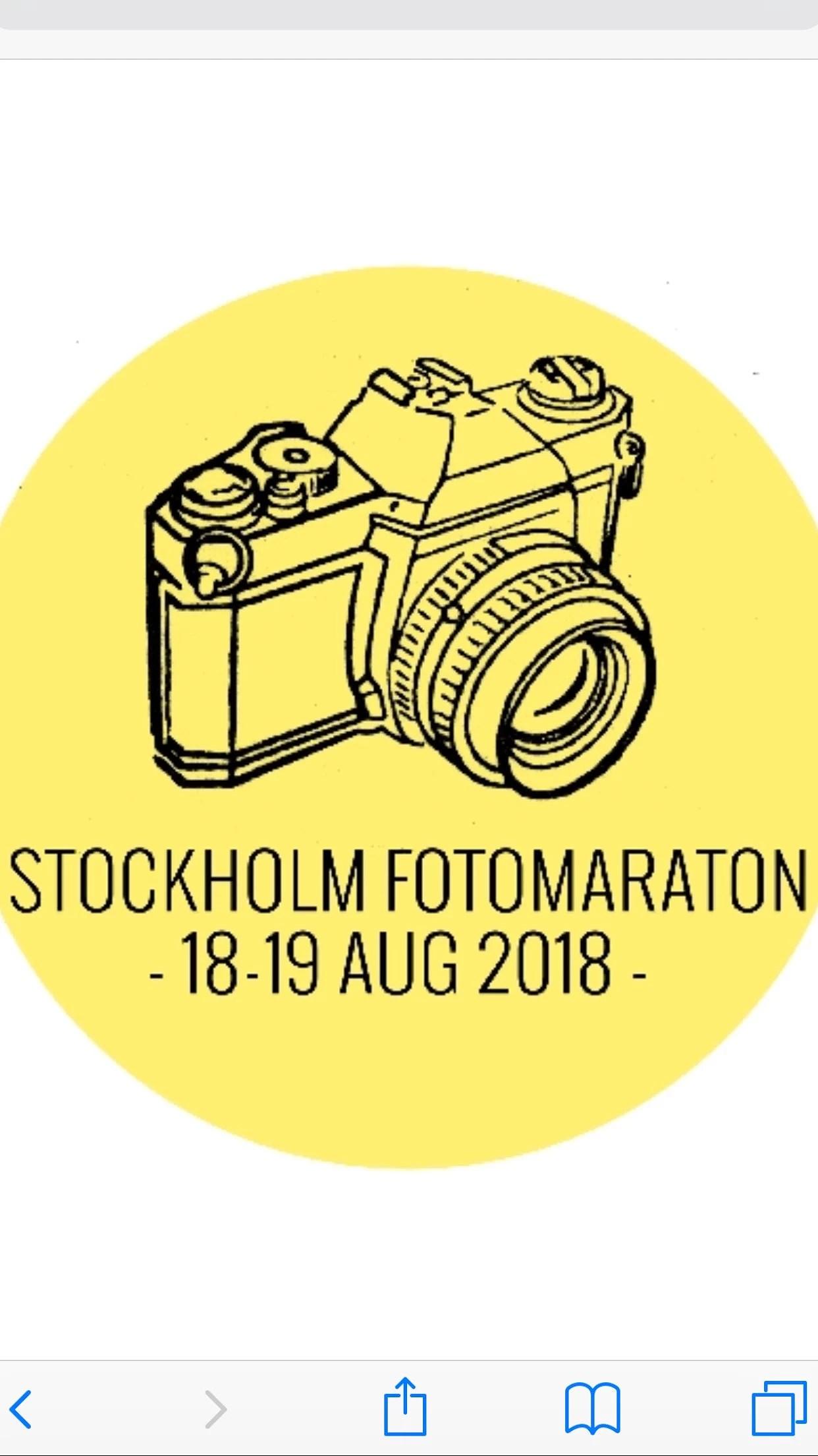 Stockholm Fotomaraton.