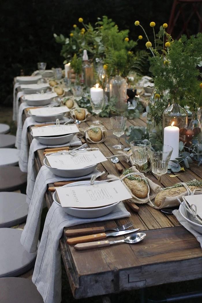 11 lækre måde at dække dit bord på