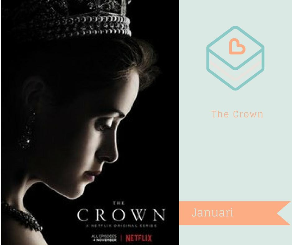 Serier jag vill se på Netflix - The Crown
