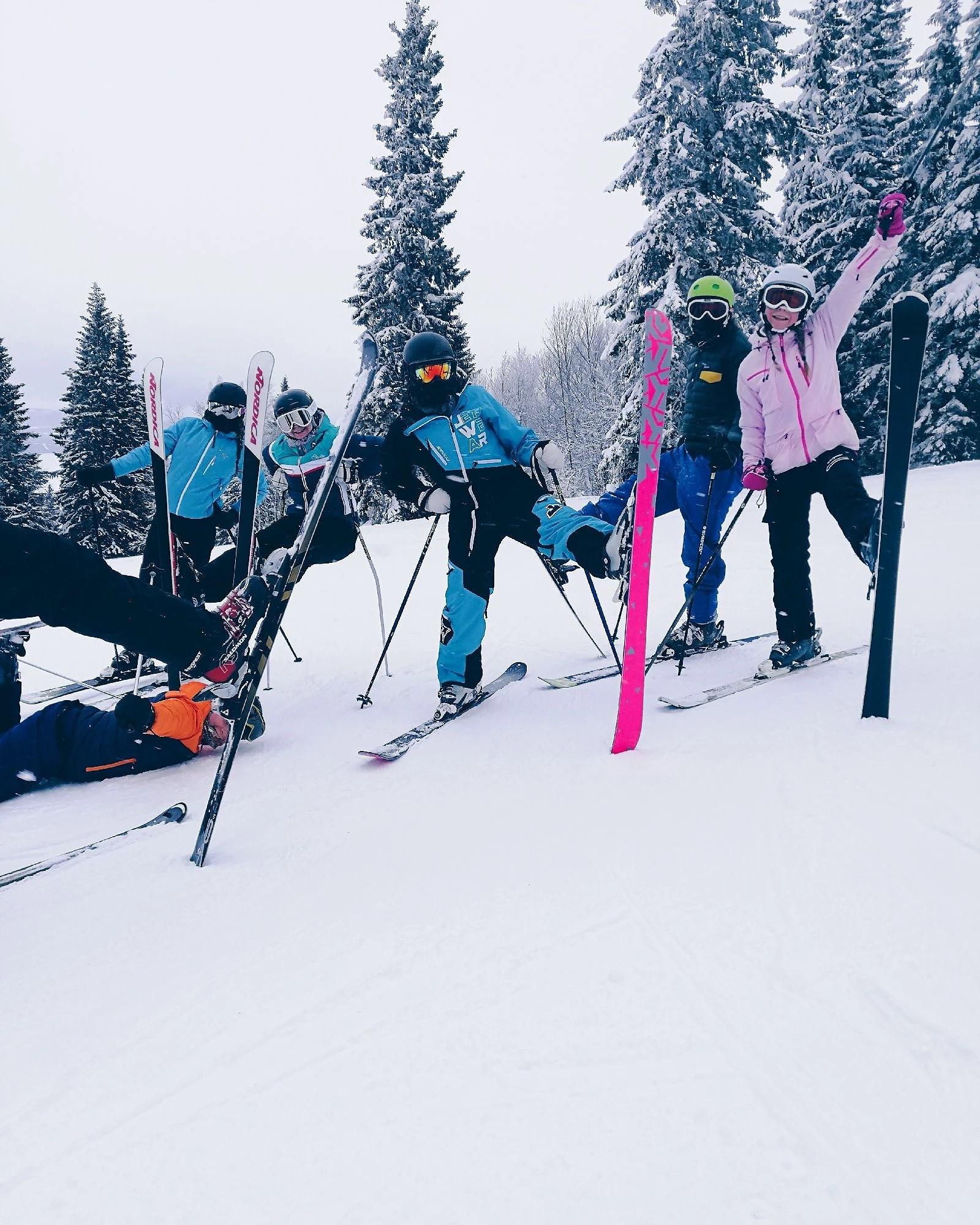 Åre skiweek dag 1