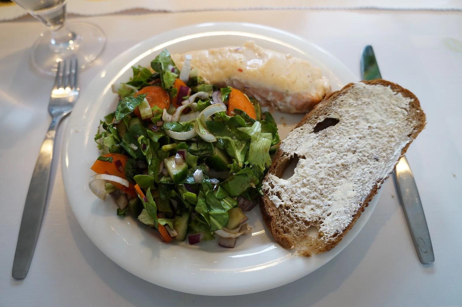 Mat, Träning och Karin