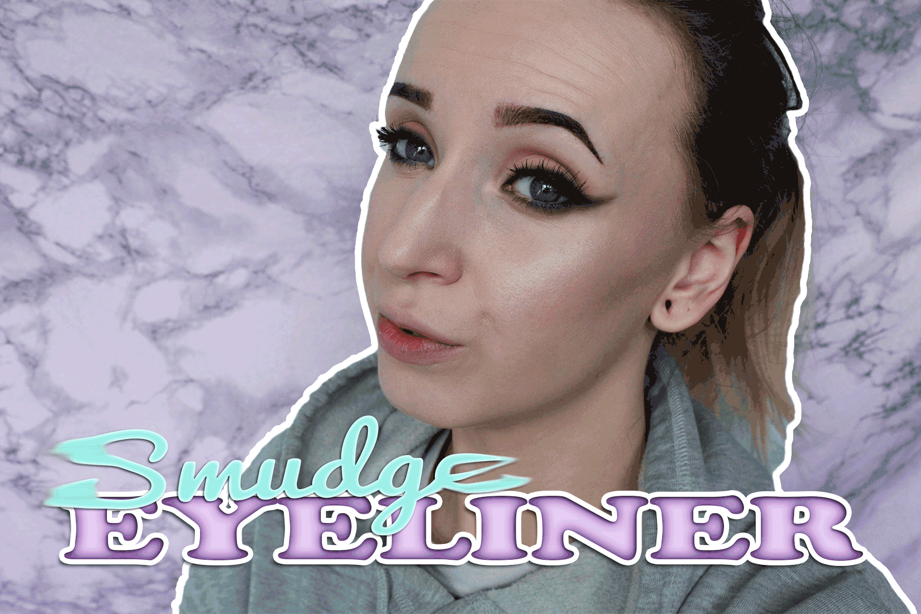 Tutorial: Smudge eyeliner
