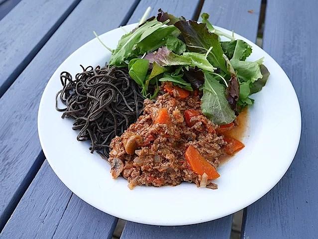 Spagetti & köttfärssås my way