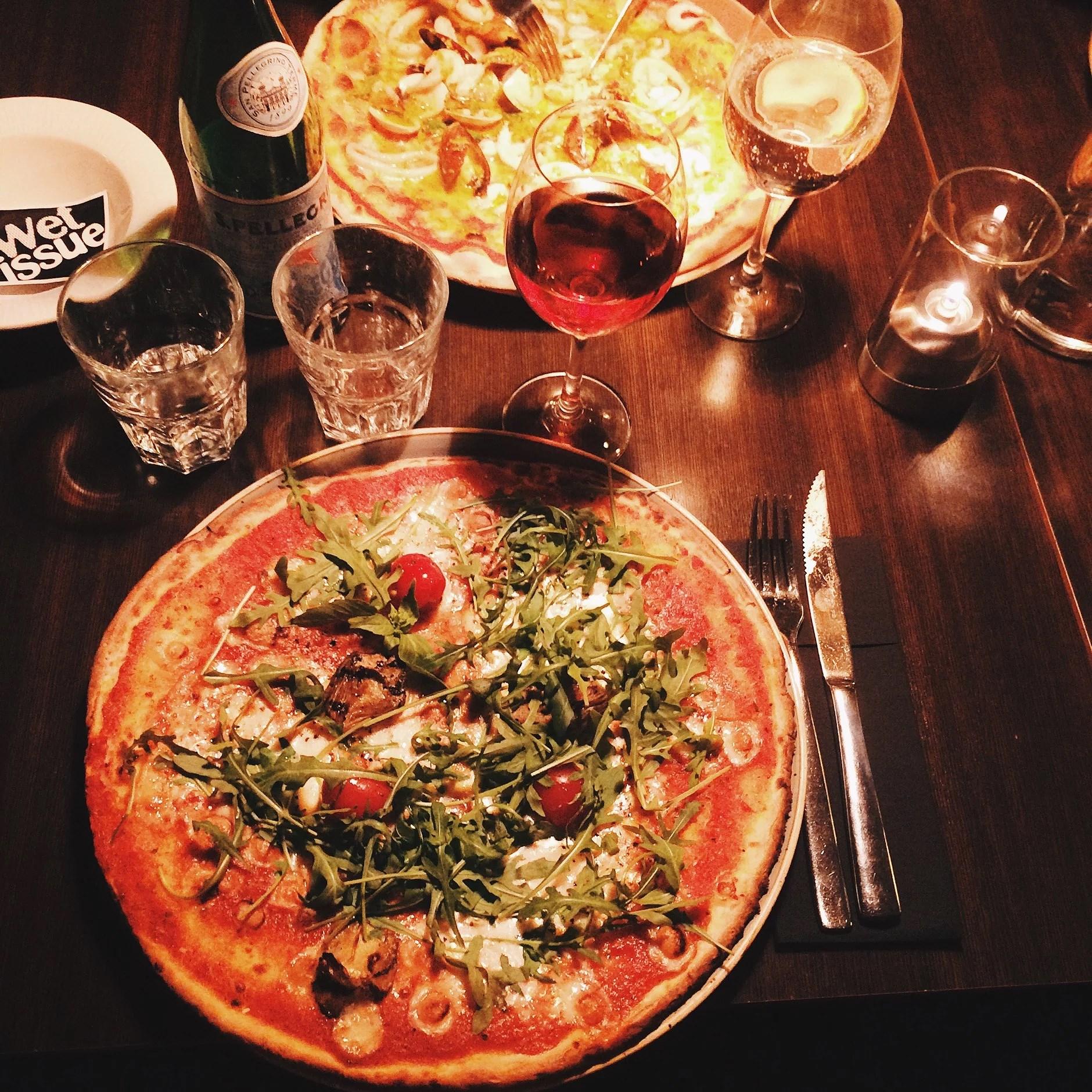 Dagens andra äventyr / den absolut godaste glutenfria pizzan!