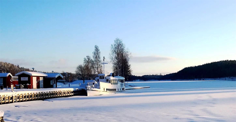 På promenad i början på Dalsland