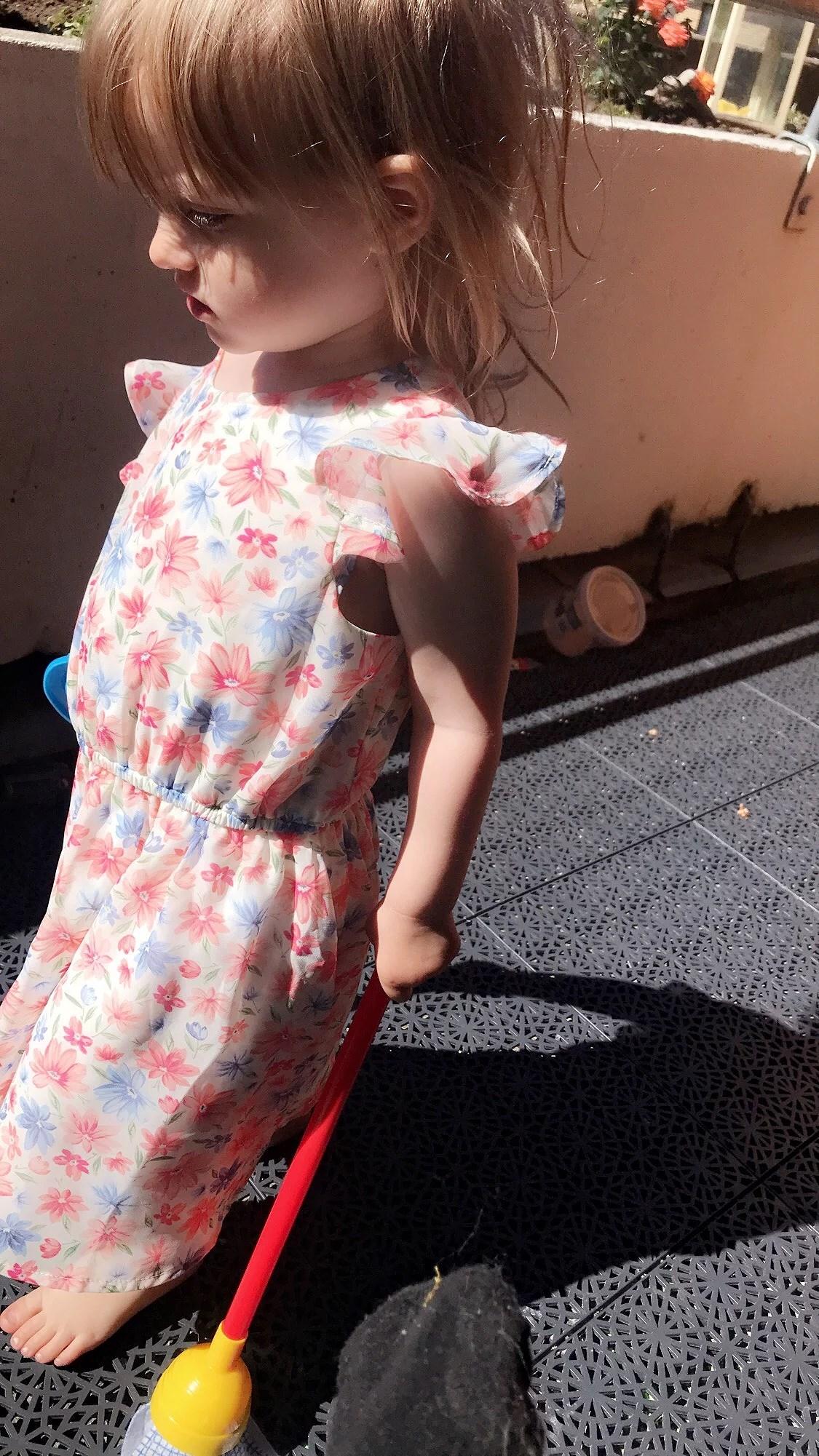 En dag i solen.