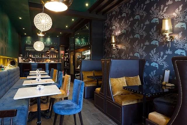 The Seafood Bar, ambiente inglés en Santiago