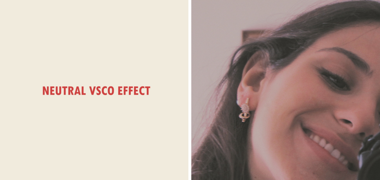 A NEW VSCO RECIPE TO ADD NEUTRAL EFFECT TO YOUR PORTRAIT