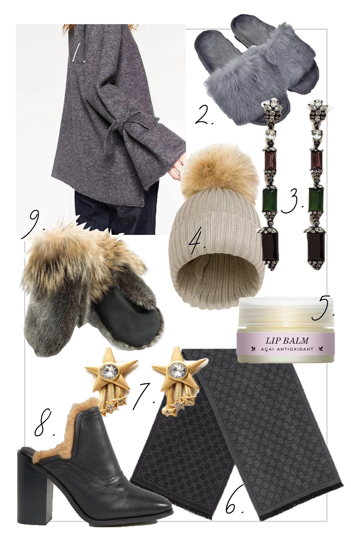 Wish list // Winter accessories