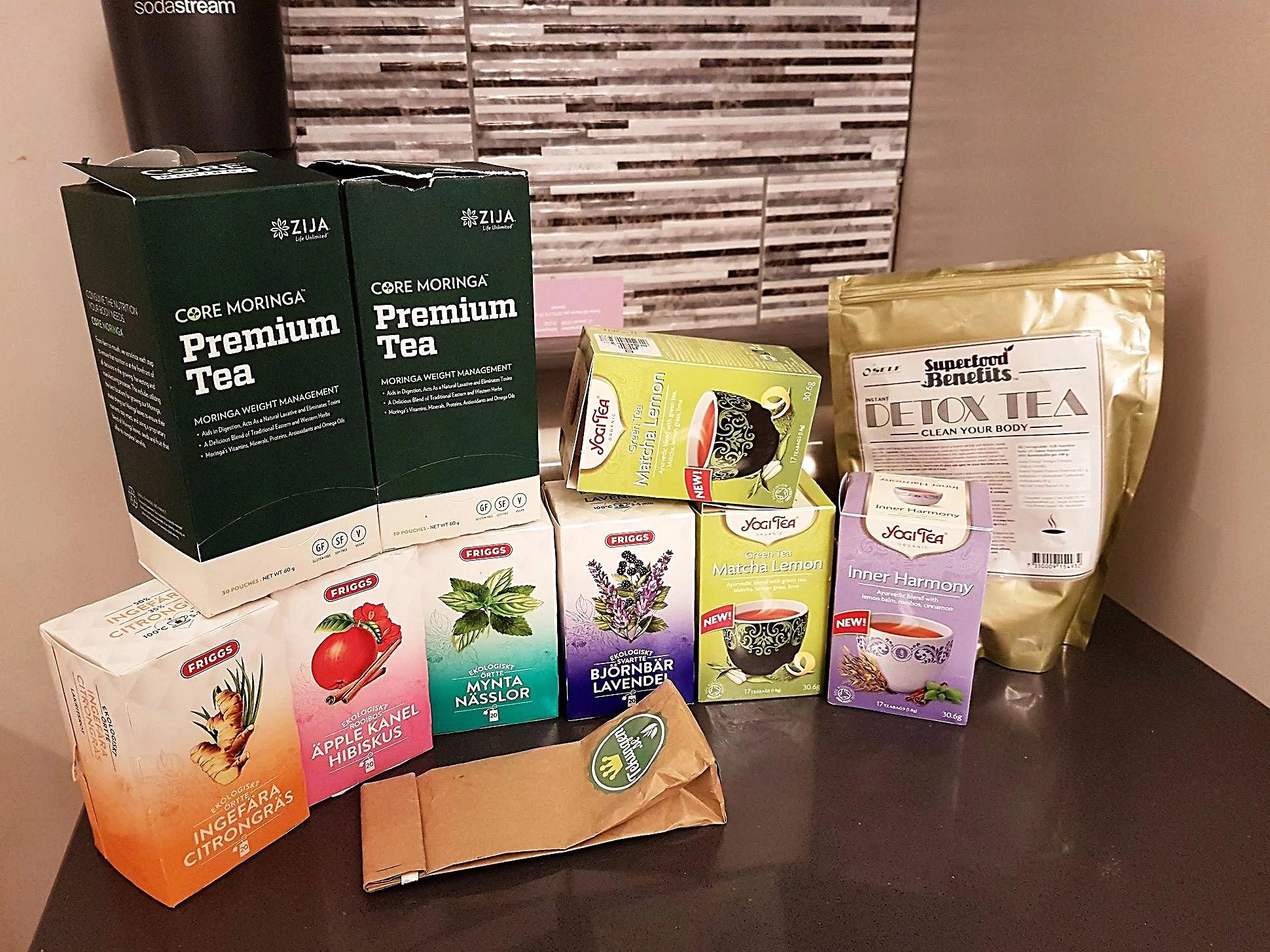 Får det lov att vara lite te?