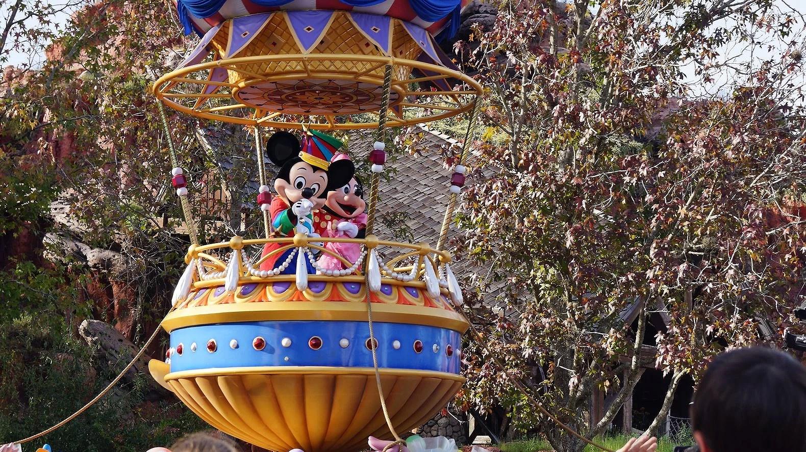 Festival of Fantasy - parad på Magic Kingdom