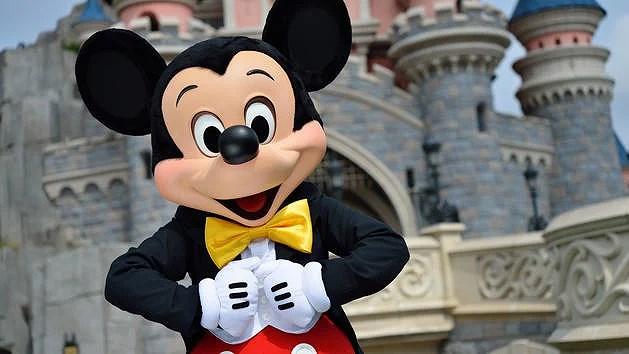 En extra scenshow på Disneyland Paris