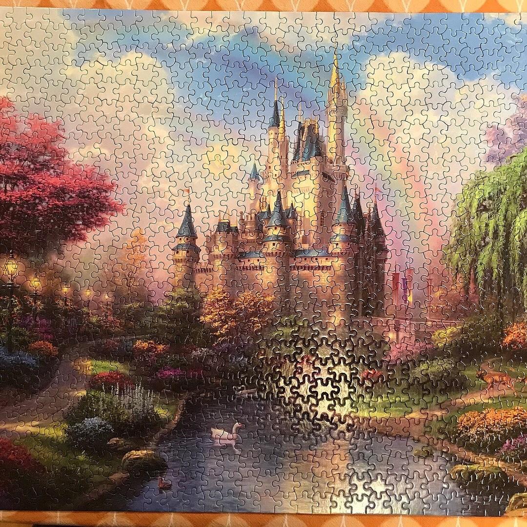 Disney Kinkade pussel
