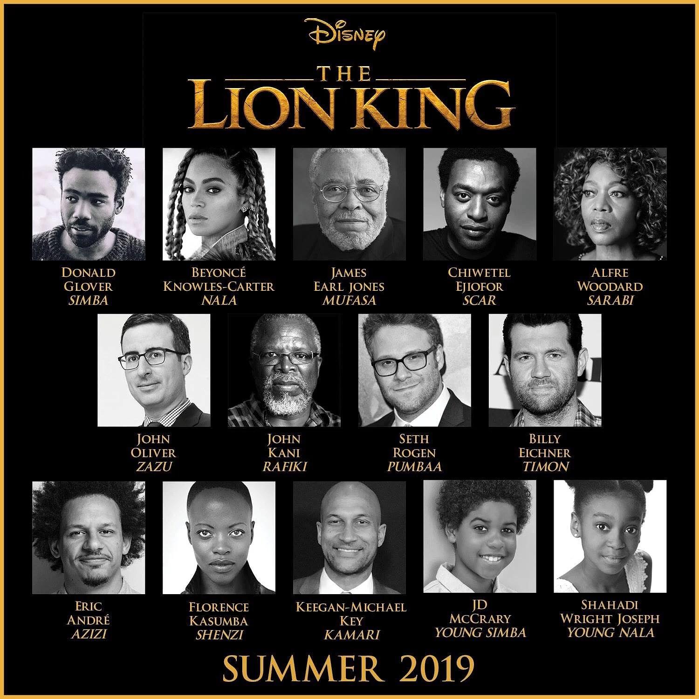 Lejonkungen kommer som spelfilm 2019